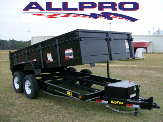 BIG TEX 7 X 14 SCISSORS LIFT DUMP TRAILER