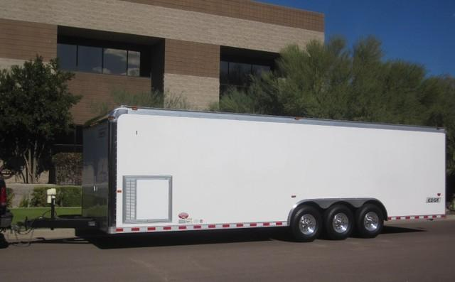 2006 HAULMARK EDGE ENCLOSED RACE CAR TRAILER