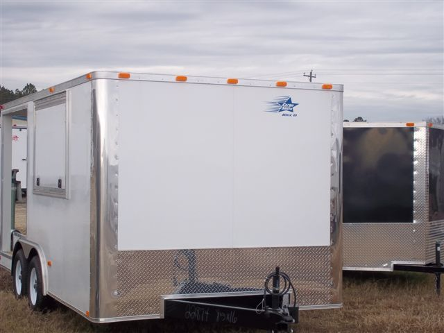 COLONY'S BASIC 8.5X16 PORCH TRAILER