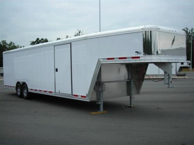 2011 Featherlite 28' Enclosed Car Trailer