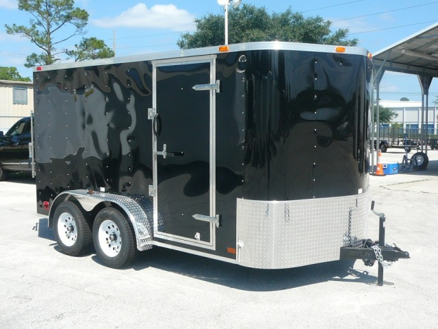 2011 7x12 Continental Cargo Enclosed Cargo Trailer