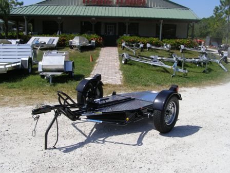 Kendon Stand-Up Single Motorcycle Trailer