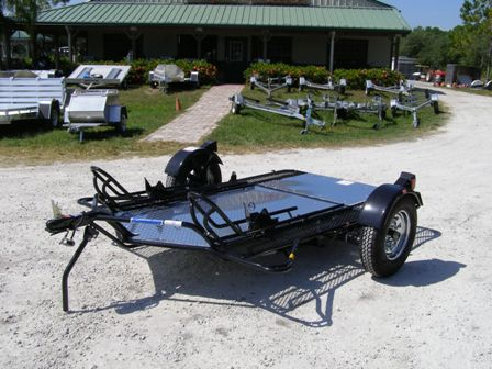 Kendon Stand-Up Dual Motorcycle Trailer