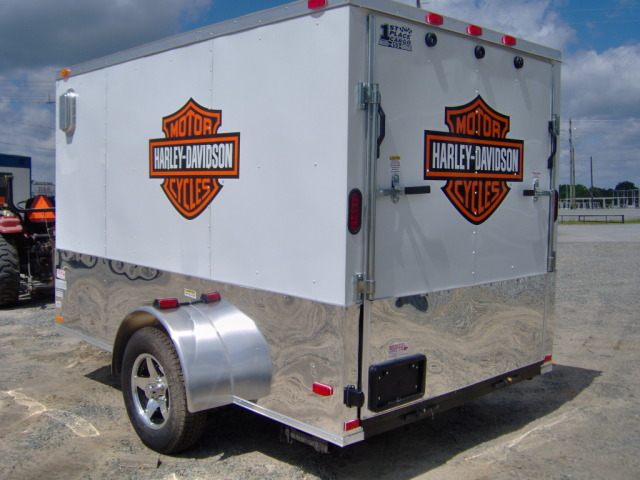 6x10 Bendron with FREE Harley Decals