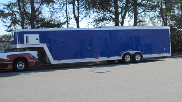 40 Ft Exiss Car Hauler 5 th Wheel