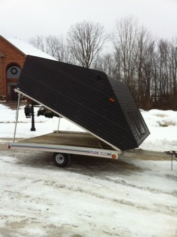Snowmobile Trailer 2 Place