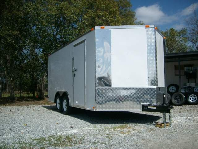 8 x 20 carhauler enclosed motorcycle cargo trailer NEW