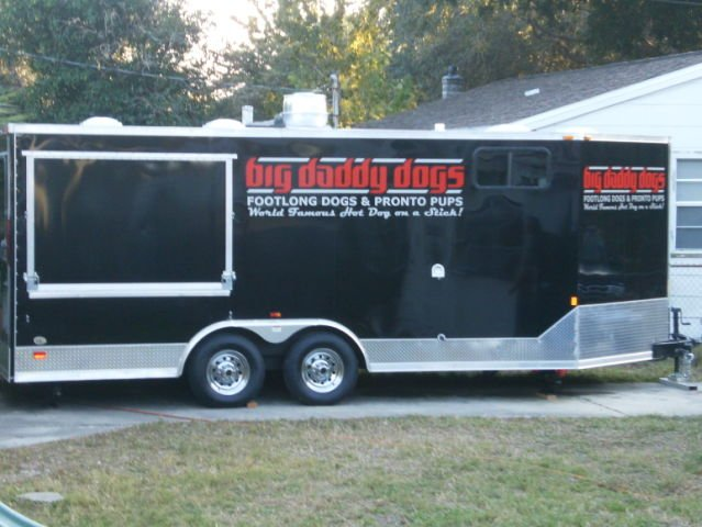 2009 Custom Built Concession Trailer w/ Living Quarters