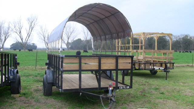 6 x 12 Covered Utility Trailer