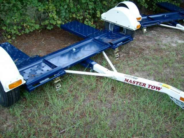2011 MASTER TOW tow dolly 80THD w straps LED lights NEW