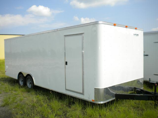 8.5 x 24 Enclosed Car Hauler