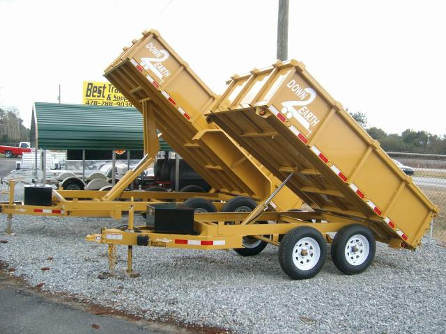 Buy Amp Sell New Amp Used Trailers 6 X 10 Deckover Dump