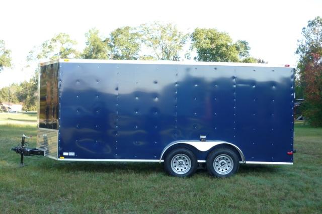 7 x 16 Tandem Axle Bumper Pull