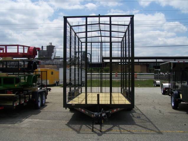 Buy & Sell New & Used Trailers 18' pine straw trailer ...