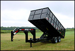 2013 Anderson 10-ton Dump Gooseneck