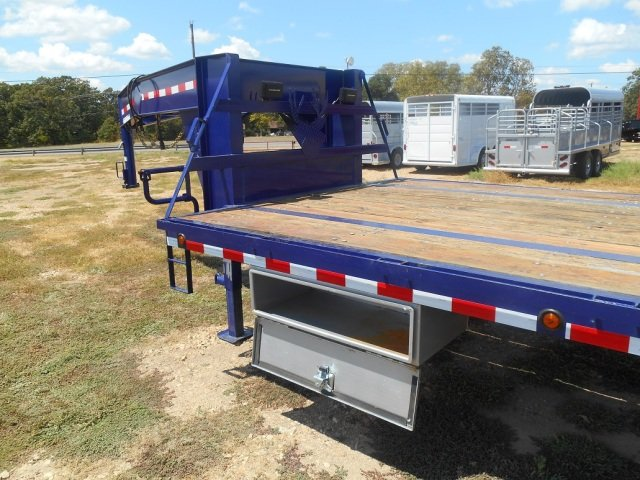 2012 Shop Made Gooseneck Flatbed For Sale In Powderly Tx