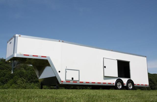 8.5 x 32 Aluminum Car Hauler GN with Escape door