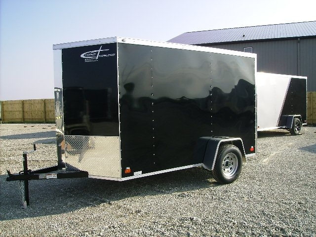 Black 6X10 Cargo Trailer in Illinois