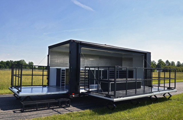 Buy Amp Sell New Amp Used Trailers Flat Black Stage Trailer At