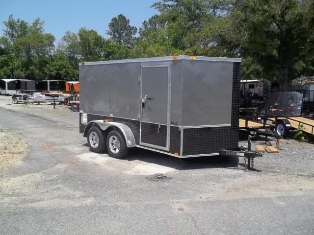 2020 Covered Wagon 7x12 sav-fi- pew-blk