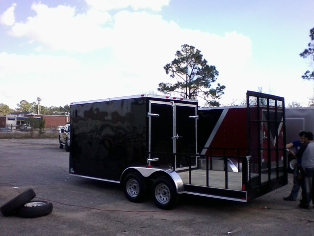Buy & Sell New & Used Trailers 7X20 TA HYBRID CARGO ...
