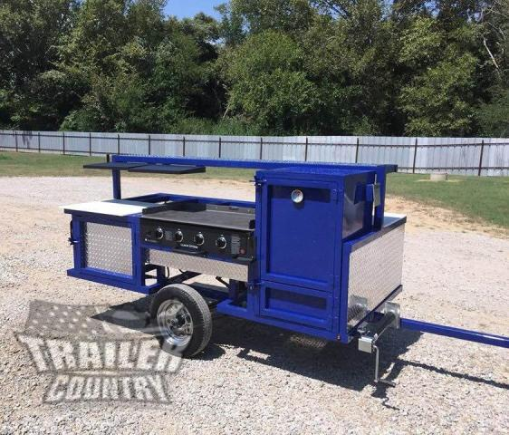 Buy & Sell New & Used Trailers 4 X 8 Outdoor Mobile Grill ...