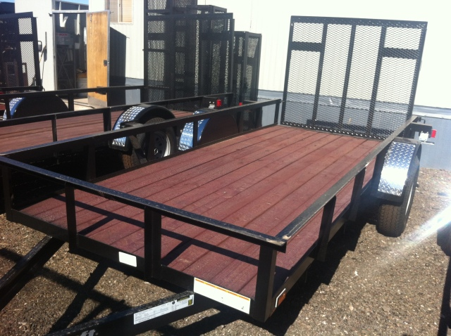 Buy Amp Sell New Amp Used Trailers 5x12 Utility Trailer Wood