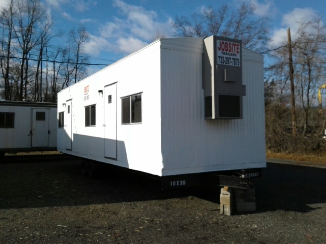 Buy & Sell New & Used Trailers 10' x 36' office trailer ...