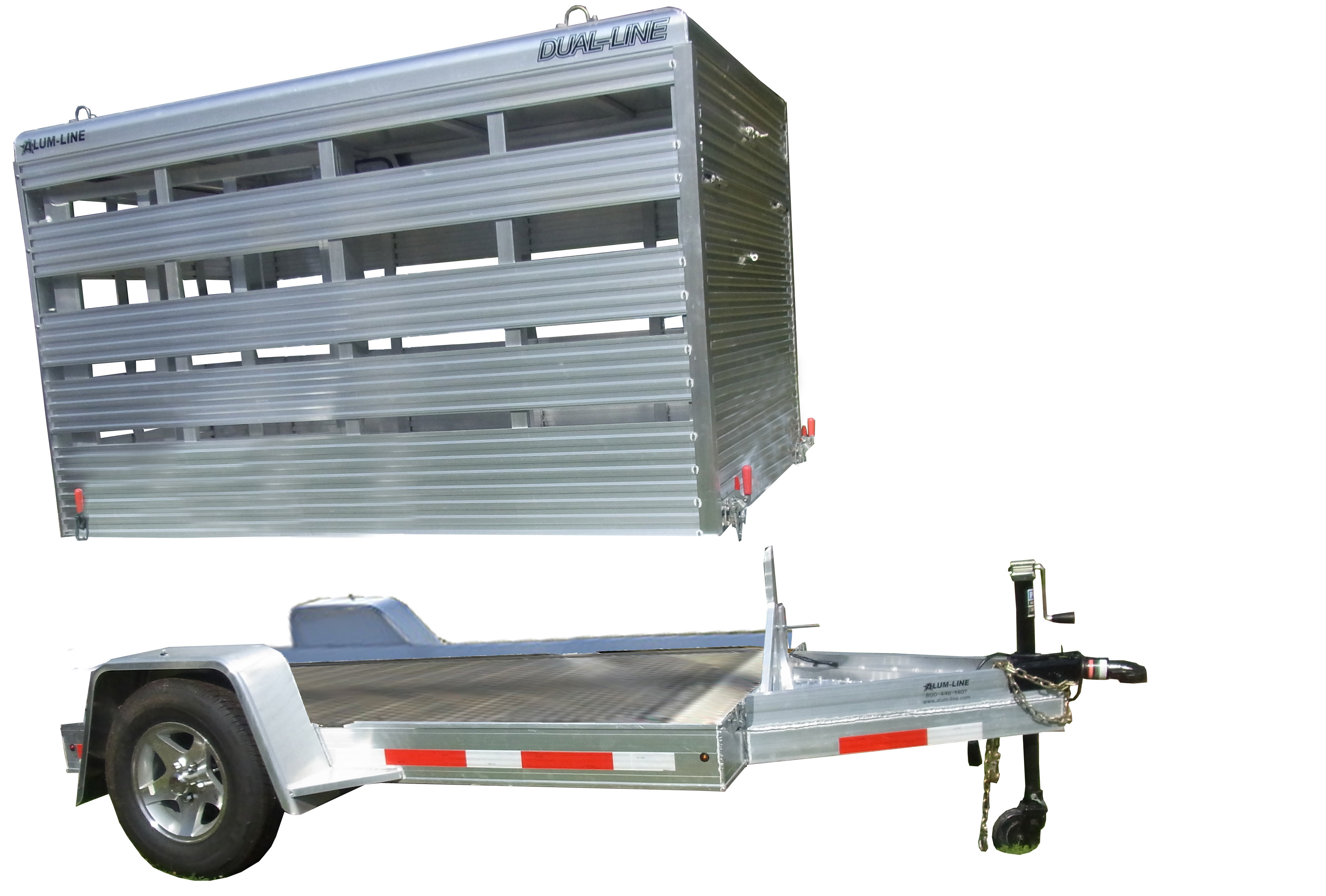 Semi Dump Trailers >> Buy & Sell New & Used Trailers All aluminum mini stock that can be used as a flatbed at ...