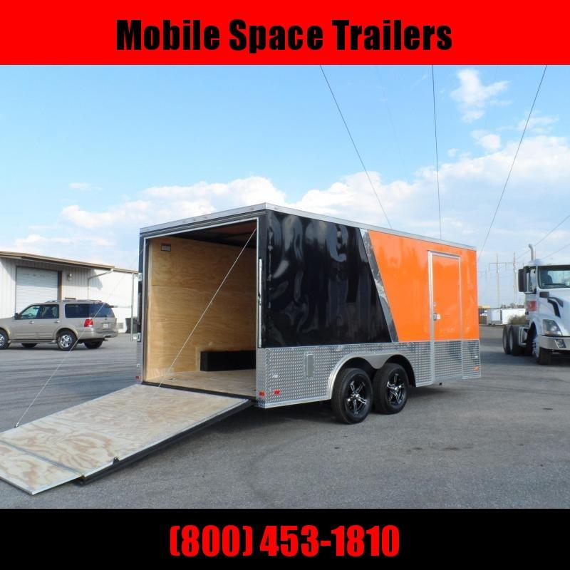 2019 Covered Wagon 8.5x16 mcp bk&or slant ramp door