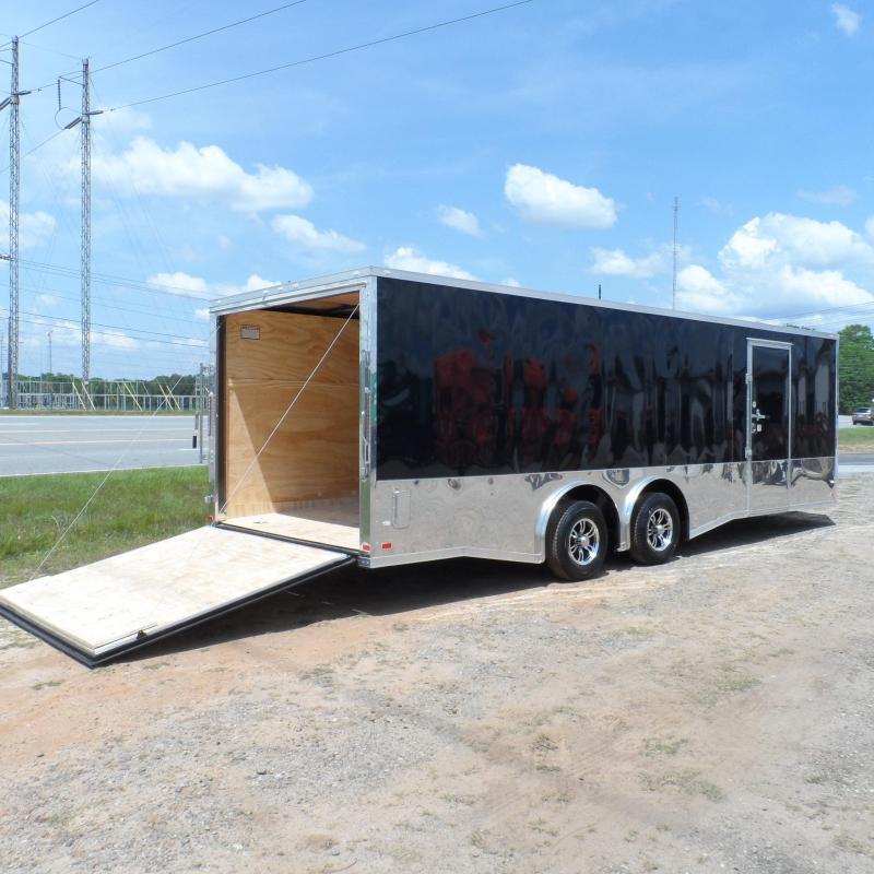 2019 Covered Wagon 8.5x24 mcp bk spread axles ramp door