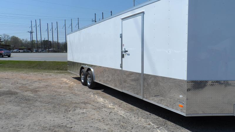 2019 Covered Wagon 8.5x28 mcp wh axles ramp door