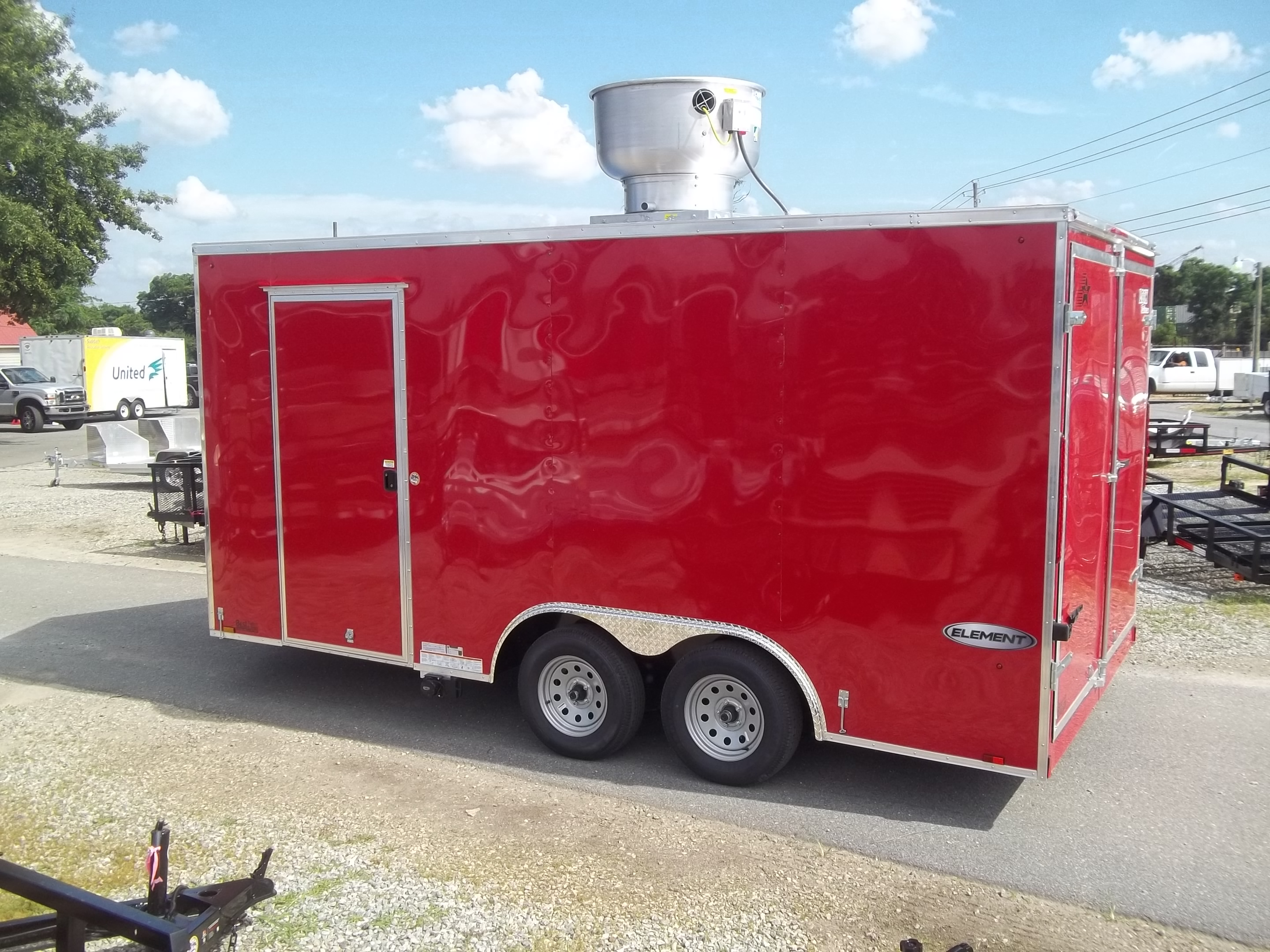 2019 Covered Wagon 8x16