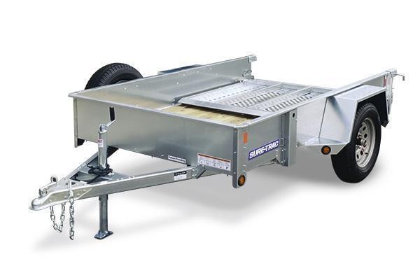 2019 Sure-Trac 5 x 10 galvanized high side