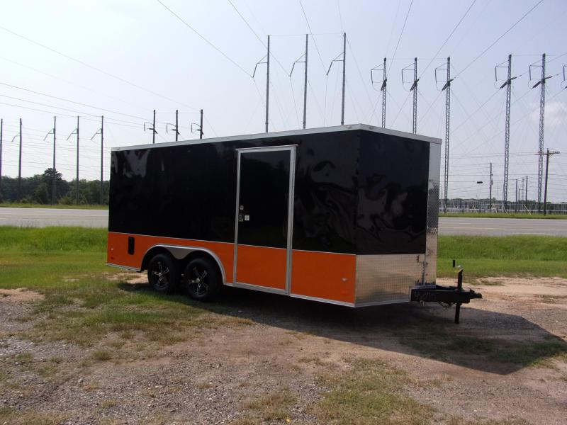 2019 Covered Wagon 8.5x16 mcp bk&or ramp door