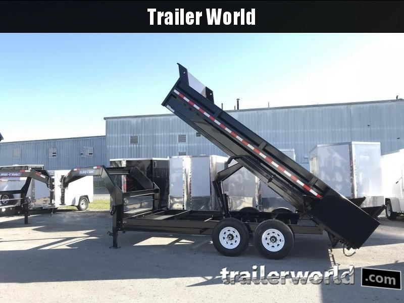 2018 Sure-Trac hd low profile dump with gooseneck