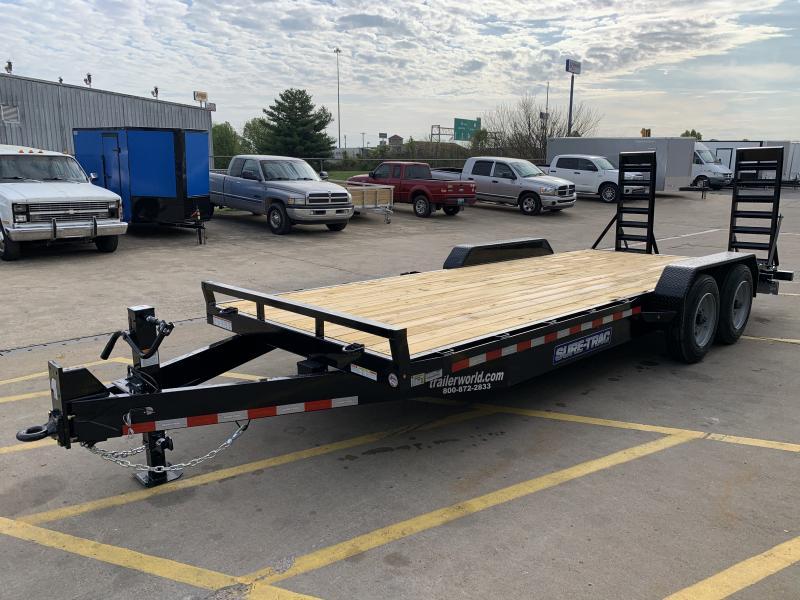 2018 Sure-Trac car hauler steel deck