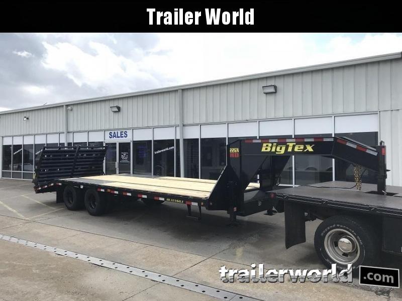 2019 Big Tex 22gn-25bk5 mega ramps