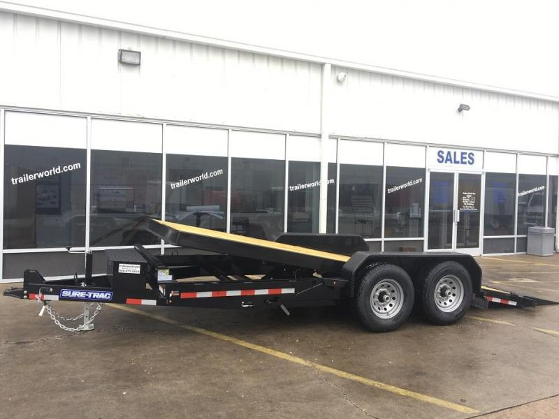 2019 Sure-Trac 18 tilt bed equipment 14k gvwr