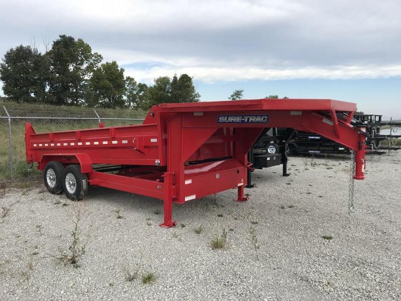 2019 Sure-Trac hd low profile dump with gooseneck