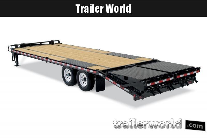 2019 Sure-Trac deck over 25 bumper pull