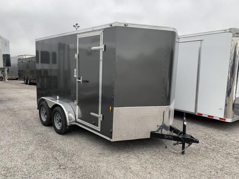 2019 Continental 7x12 ramp door