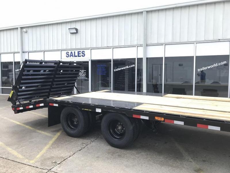 2020 Big Tex 22gn-25bk5 mega ramps