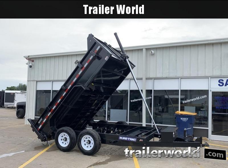 2020 Sure-Trac 12' telescopic dump 12k