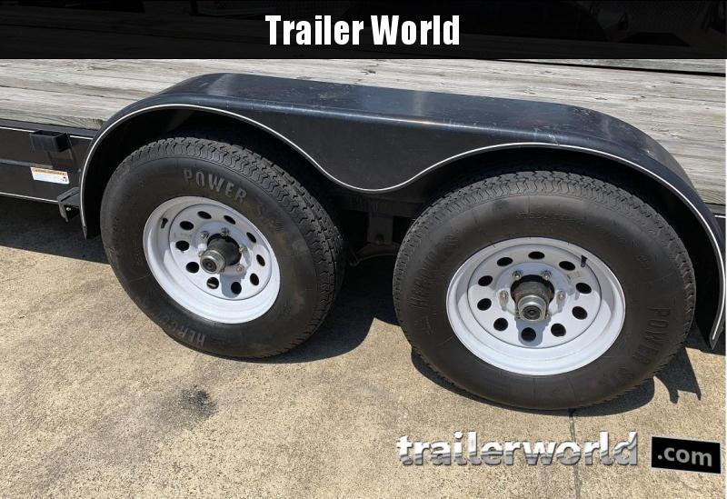 2014 Carry-On 18 wood deck car hauler 10k gvwr