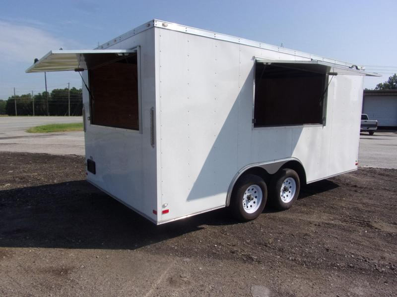 2018 Covered Wagon 8.5x16 concession