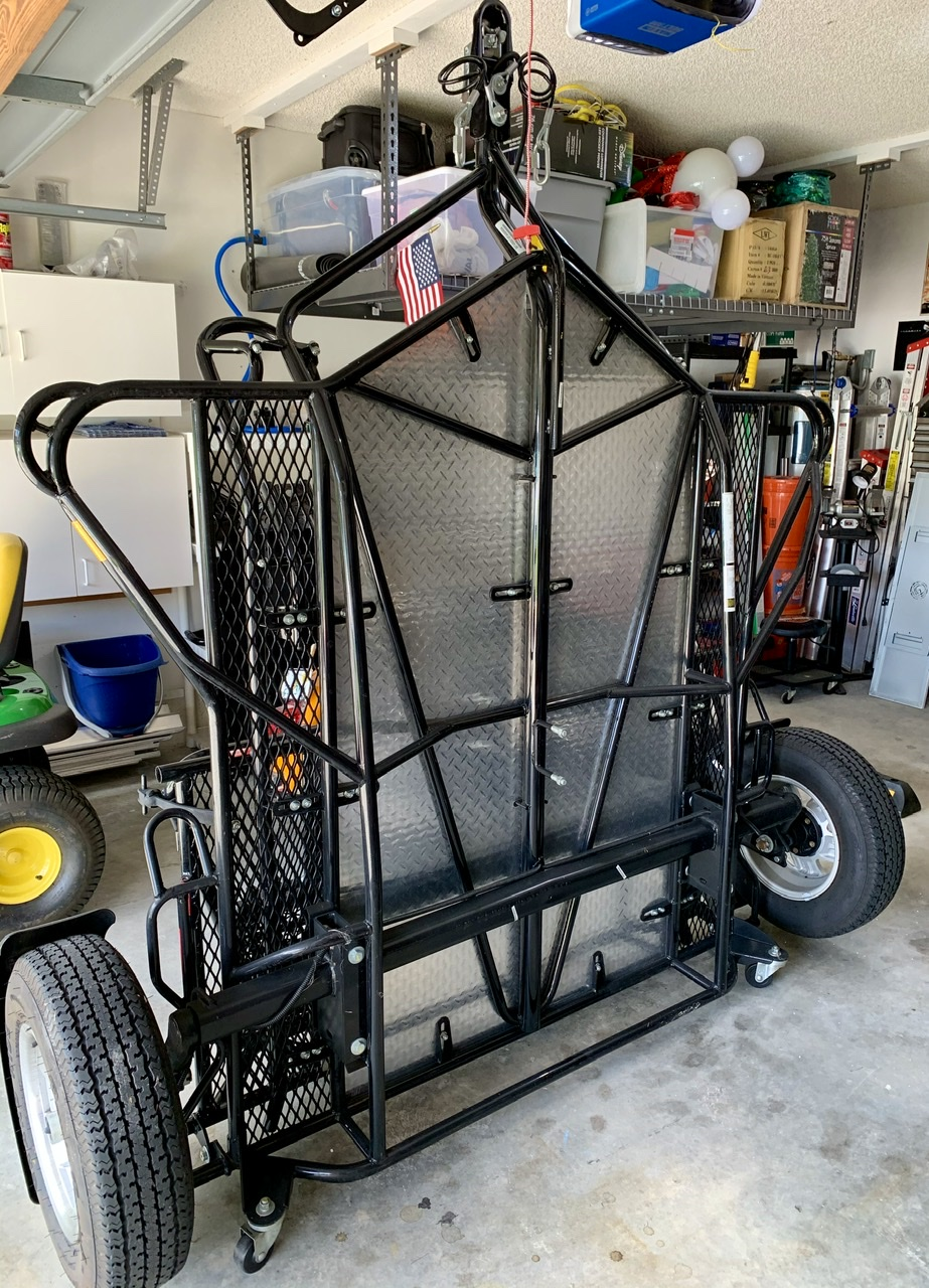 2015 Kendon dual-rail ride-up srl folding stand-up