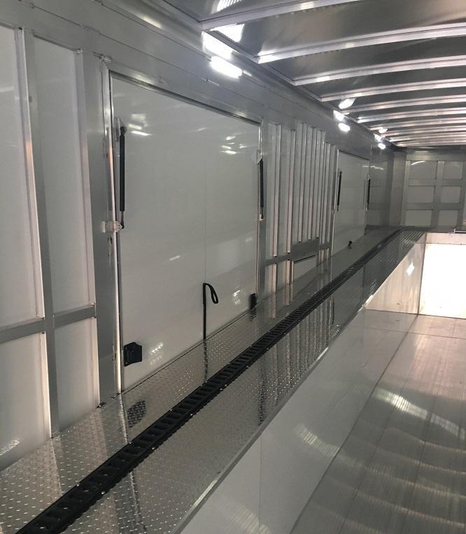 2020 Sundowner 52 aluminum enclosed 3 car