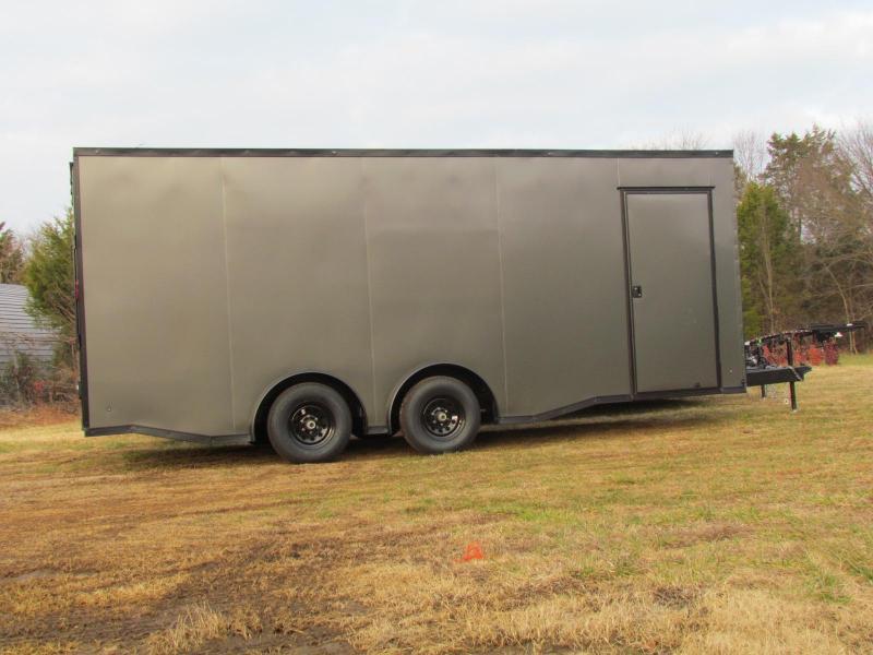 2020 Eagle 8.5x20 enclosed car hauler 9990 gvwr spread axle