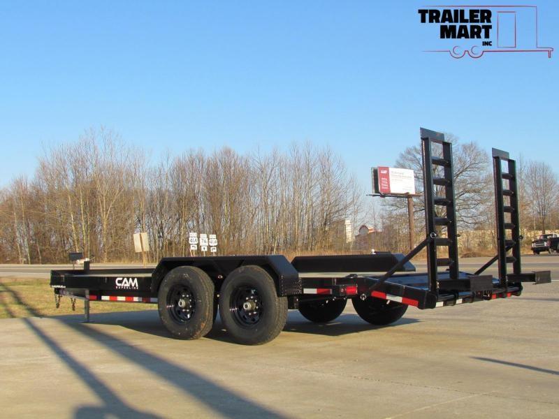 2020 Cam Superline 16'+2' channel frame equipment hauler trailer
